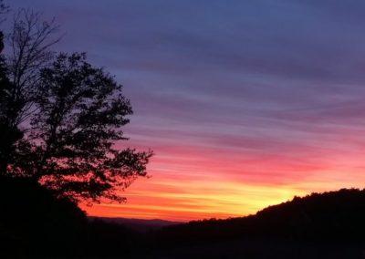 Sonnenuntergang Limbach